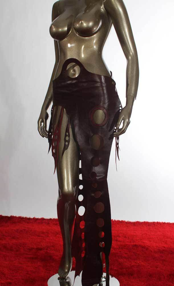 Seductress Leather Skirt