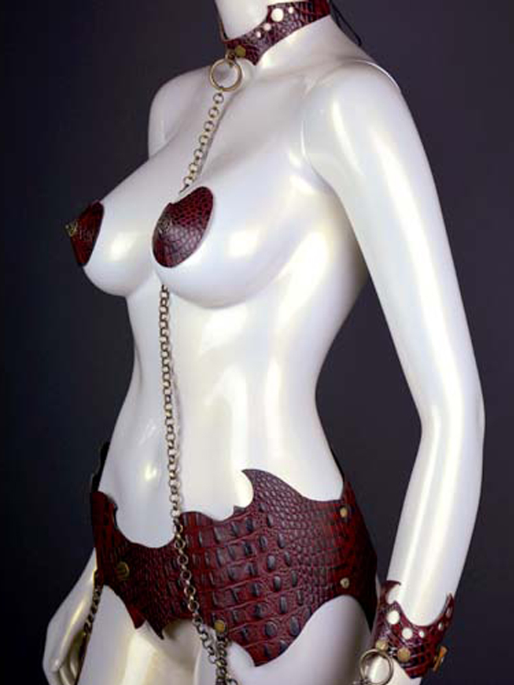 Exotica Leather Belt (Leather Garter Belt Accessory)